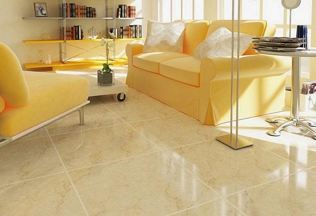 Gạch toàn phần 60x60 được sử dụng trong các không gian hiện đại đòi hỏi tính thẩm mỹ cao, sang trọng