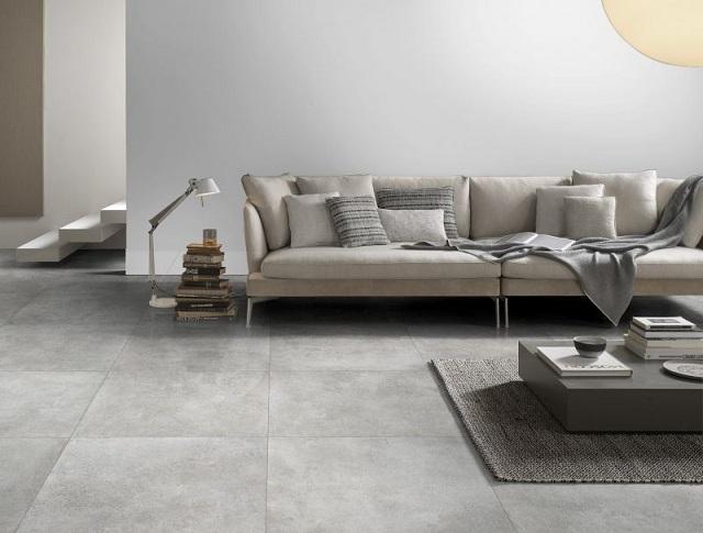 Chọn loại gạch có kích cỡ phù hợp với diện tích để tổng thể hài hòa hơn