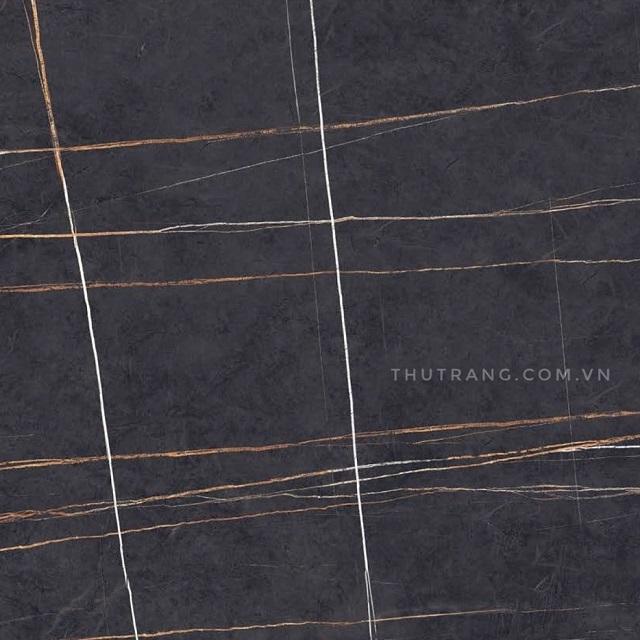 Gạch lát nền 80x80 dd liner brown vân đá xanh đen